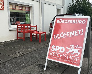 Offen für BürgerInnen, Gewerbe, Vereine und Initiativen: Das Bürgerbüro der SPD Reichshof