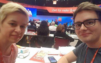 Reichshofer Beteiligung auf dem Bundesparteitag